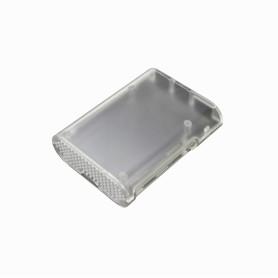 CAJA-PI-3 -Caja para Raspberry PI-3 PI-2 PI B+ Semi-Transparente Plastico-ABS