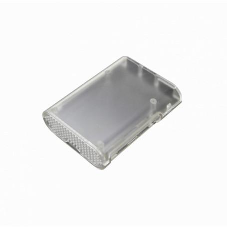 MicroPC pi/bpi Generico CAJA-PI-3 CAJA-PI-3 -Caja para Raspberry PI-3 PI-2 PI B+ Semi-Transparente Plastico-ABS