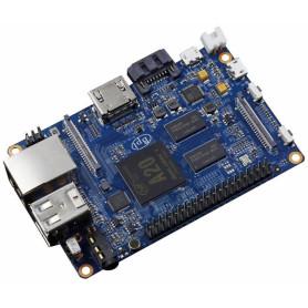 BPI-M1+ -BANANAPI A20 DualCore 1GB req/5V-2A WiFi-U.FL 1-1000 HDMI Aud3,5mm USB