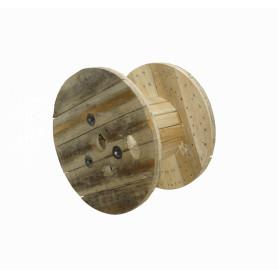 CARRETE -Carrete Vacio Madera p/Cable Fibra Optica Diametros ext-63cm int-31cm