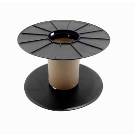 REEL -Carrete Vacio Carton-Interior-Diametro-13cm Plastico-34,5cm