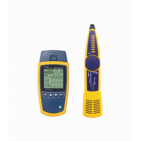 Certificadoras Fluke MS2-KIT MS2-KIT -FLUKE Kit MicroScanner2 IntelliTone RJ/F inc-2AA/bat9V Sondas Bolso