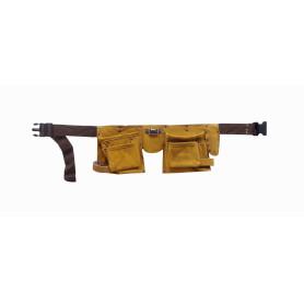 CINTURON -FERRAWYY Cinturon Herramientas Cuero Coleto PTH511