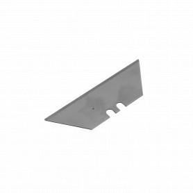 CUCH-T10 -10 repuestos Trapezoide Cuchillo Metalico Profesional Cartonero TipTop