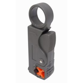 HT-332 -Deschaquetador para Cable Coaxial RG58 RG59 RG62 RG6 RG174 MK0553