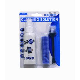 KCL-1005 -KIT Limpieza Pantalla LCD Antiestatica Limpiador Pano y Cepillo