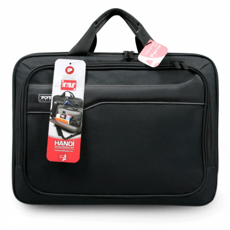Mochilas y bolsos  HANOI HANOI -PORT 390x265x40mm 13,3 pulgadas Notebook Bolso Negro