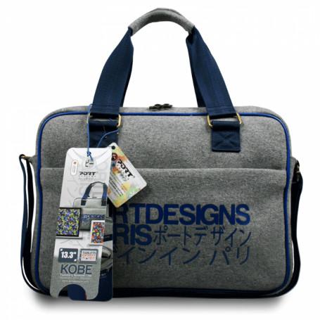 Mochilas y bolsos  KOBE KOBE -PORT 325x230x25mm 13,3pulgadas Notebook Tablet Bolso Gris