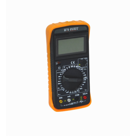 Tester Generico DT-9501 DT-9501 Multitester Digital inc-Bateria9V 1000VDC 750VAC 20A NPN/PNP