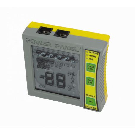 Tester BYTEBROTHERS POE1000IL POE1000IL -BYTEBROS Tester PoE Detecta-Par Mide-Volt Indica-100/1000 inc/bat-9V