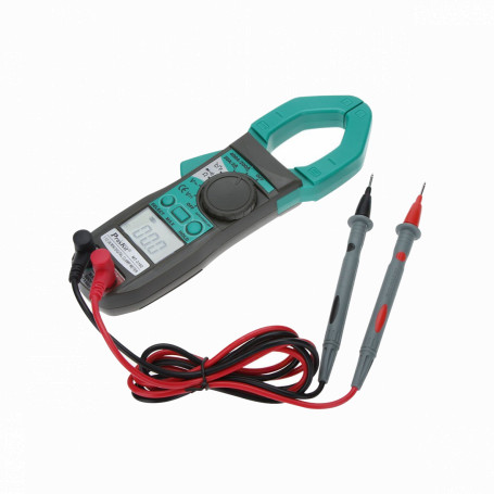 Tester Generico TENAZA TENAZA -Multitester Amperimetro req-3-AAA inc-Termocupla 400A 600VAC Jaw-30mm