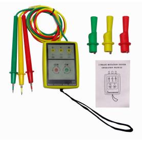 JTW-8030 -Instrumento Indicador LED Fase Trifasica no requiere Bateria