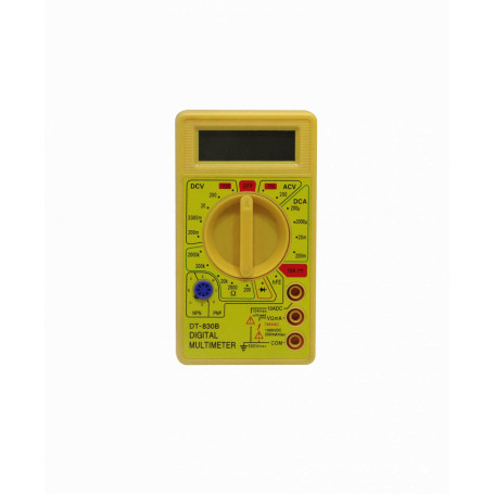 Tester Generico MULTIMETER-20 MULTIMETER-20 -Multitester Digital inc-Bateria-9V 300VDC 300VAC 200mA