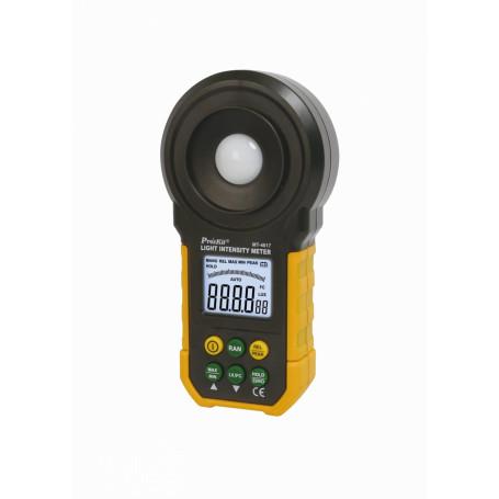 Tester Proskit MT-4617 MT-4617 -PROSKIT Luxometro Digital req-Bateria-9V 0-200000Lux 320-730nm