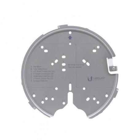 Soporte / Adaptador Ubiquiti U-PRO-MP U-PRO-MP -UBIQUITI Montaje Metal alta resistencia y T-Bar para UAP-AC-PRO/HD/SHD