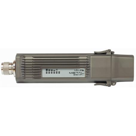 Conectorizado Mikrotik RBMETAL2SHPN RBMETAL2SHPN MIKROTIK METAL 2,4GHZ INC-6DBI-OMNI 32DBM/1.6W L4 1-N-M 1-100POE/8-30V