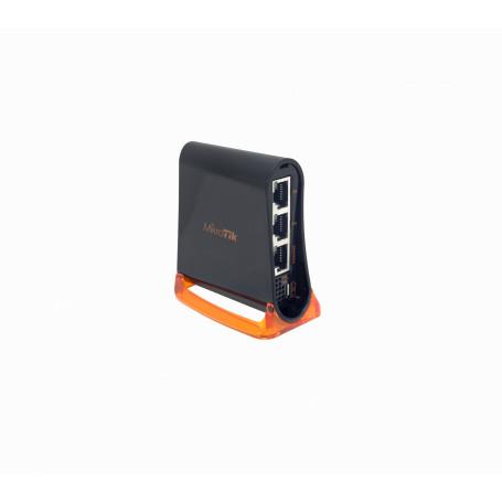 Router 100 2,4G Mikrotik HAP-MINI HAP-MINI MIKROTIK 650MHz 3-100 2,4GHz 2x2 L4 Ants-intern inc5V 1,5dBi RB931-2ND