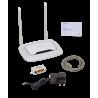 Router 100 2,4G TP-LINK TL-WR843N TL-WR843N -TP-LINK N300mbps 2-5dBi-Fijas 4-LAN 1-WAN-PoePasiv 2,4GHz Router inc9V