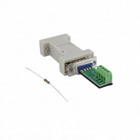 SAR-01 -SINTECHI Conversor RS232 RS485 DB9-H DB9-M 4-pin no-req-fuente 1200mt