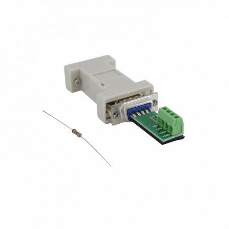 M2M / RS232 / RS485 Generico SAR-01 SAR-01 -SINTECHI Conversor RS232 RS485 DB9-H DB9-M 4-pin no-req-fuente 1200mt