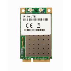 R11E-LTE -MIKROTIK 2-U.FL LTE4-1/2/3/7/8/20/38/40 3G-R7 2G-C12 MiniPCIe