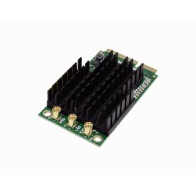 R11E-5HACT -MIKROTIK 3-MMCX 28dBm MiniPCIe 5GHz-ac 4920-6100MHz QCA9880