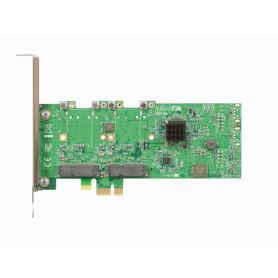 RB14E -MIKROTIK 4-SLOT 4-MINIPCIE A PCIe-x1 TARJETA ADAPTADOR