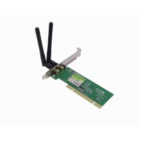 TL-WN851ND -TP-LINK 2-RPSMA-2dBi N-300mbps Tarjeta PCI-Legacy-32bit 20dBm 2,4GHz