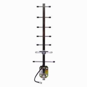 AY09G10-NF -ALTELIX Antena Yagi 627mm 10dBi 806-960MHz 0,9GHz 900MHz N-Hembra-30cm