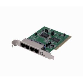 RB44L -PCI-Legacy 10/100 4-100-LAN para Servidor RTL8100CL RTL8305SC