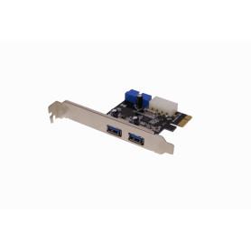 PCIEX-2USB3 -PCIe-x1 2-USB3.0 Tarjeta Interna PCIExpress