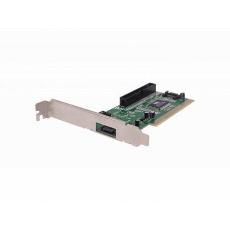 PCI y PCMCIA otras Generico PCISATAIDE PCISATAIDE -Tarjeta PCI-2.2 3-SATA1.0-150mbps 1-IDE-ATA133 RAID0-1 VT6421A Legacy