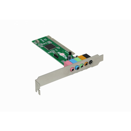 PCI y PCMCIA otras Generico PCI-SND5.1 PCI-SND5.1 -Tarjeta Sonido 5.1 PCI-Legacy WIN7 5-3,5MM-H CM8738/PCI-6CH-LX