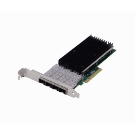 PCIEX-4SFP+ -LR-LINK PCIe-x8 4-SFP+10G NIC LREC9804BF Tarjeta IntelXL710 p/Servidor
