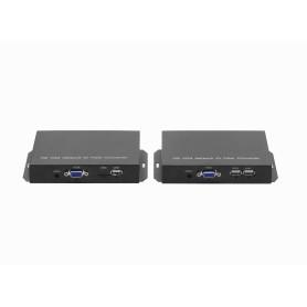 VGA-KVM-FIBRA -Kit TX/RX...