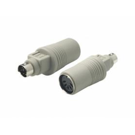 ATH-PS2M -Adaptador Legacy-AT-Hembra a PS2-Macho Teclado/Mouse AT-PS/2