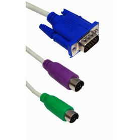 DKVM-CB3 Cables para KVM...