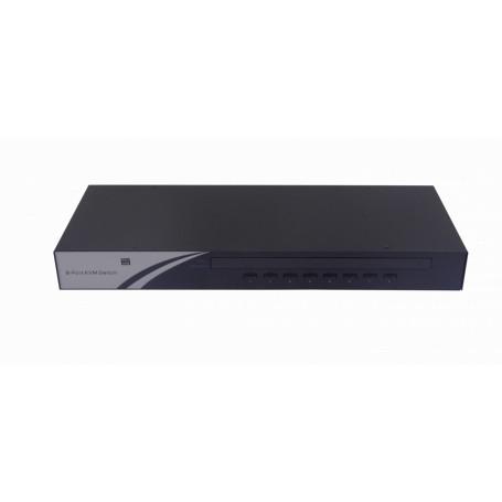 Equipo KVM  ESB-0880 ESB-0880 -MINITAR KVM RACK 8-PC USB-PS2 REQ-CABLES-ECAB PS/2
