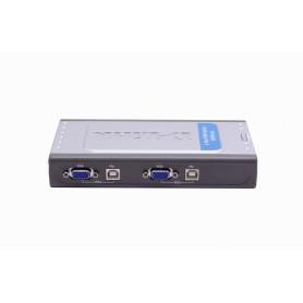 DKVM-4U -D-LINK KVM USB...