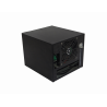 Gabinete PC Linkmade RAG-N4 RAG-N4 4-HD-3.5-HOTSWAP 1-PCI 1-USB3 DESKTOP MINI-ITX REQ/FATX-1U