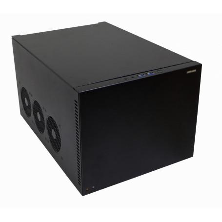Gabinete PC Linkmade RAG-D6 RAG-D6 -LINKMADE 6-HD-3,5 2-PCI 2-USB3 2-3,5MM DESKTOP MINI-ITX/DTX REQ/FATX