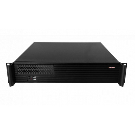 Gabinete PC Linkmade RAG-2U RAG-2U -LINKMADE 2U CASE RACK C/RIEL MICRO-ATX 4-PCI-LOW-PROFILE REQ/FATX