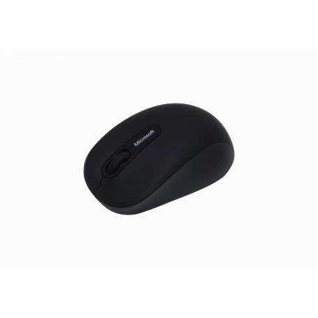Teclado / Mouse Microsoft 3600 3600 -MICROSOFT Mouse Bluetooth4.0 Inalambrico inc-1-AA Negro
