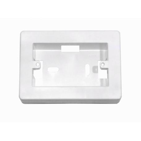 Accesorios keystone Kalop FPCWK FPCWK KALOP HiloPlastic 34mm-Alt 130x91mm Caja Chuqui Pared Faceplate70x114