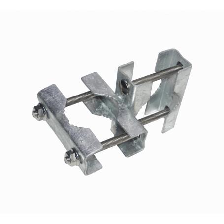 Mastil/accesorios Generico HARUNI HARUNI -Abrazadera Horizontal-Vertical Galvanizada Hasta-2-Pulgadas