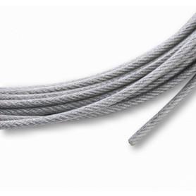 MAST-SW3 -Cable Acero Zincado 3mm 7x7 por-Metro Zinc-Plated