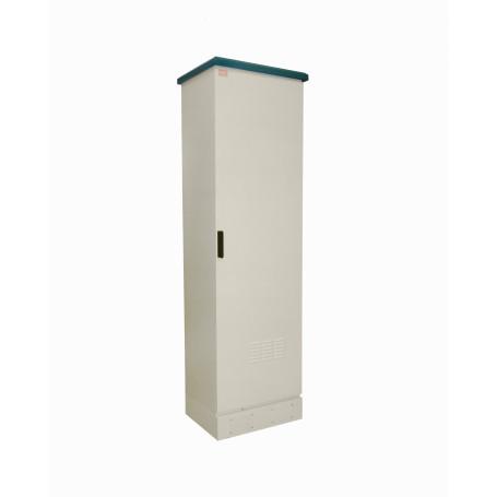 Gabinete exterior Linkmade RK45-5LE RK45-5EL -LINKMADE 45U 644x500mm Rack Exterior-Piso Beige IP65 PDU Bandeja Vents
