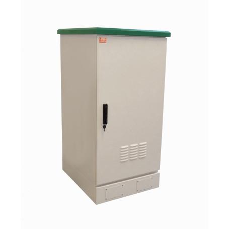 Gabinete exterior Linkmade RK22-8LE RK22-8LE -LINKMADE 22U 644x780mm Rack Exterior-Piso IP65 PDU Bandjs Vents Tamper