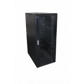 RK30-9VL -LINKMADE Vidrio 30U 900mm 90cm-Fondo Rack Ventiladores PDU Bandejas