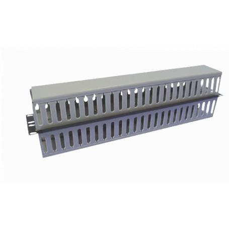 Ordenador Linkmade RADD-1PL RADD-1PL -LINKMADE 1U DOBLE DUCTO ADM CABLE PLASTICO NEGRO